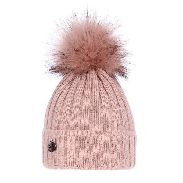 Winter hat with pompom Malina