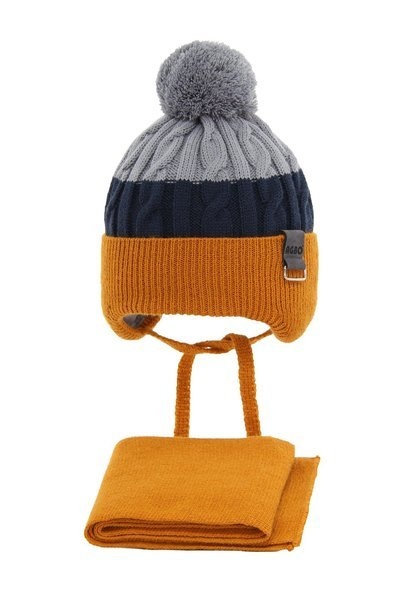 Winter set for boy: hat and scarf Stan
